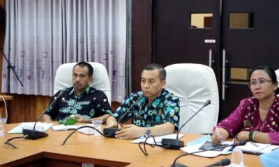 Rapat koordiasi bersama Panitia Waton 2019 Di Aula Pemkab Jember, Anas Ma'ruf (batik Hijau). (ist)