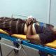 MUSIBAH : Korban saat ditemukan menggemparkan warga sekitar. (ist)