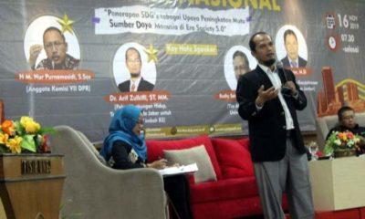 Dr Arif Dzulkifli, ST, MM dari Pakar Lingkungan Hidup. (Kj1)