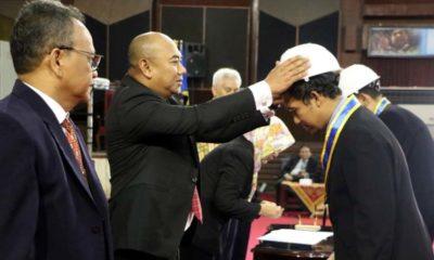 Unej melantik 68 insinyur baru lulusan Prodi Profesi Insinyur Periode II Tahun 2019 di Gedung Soetardjo. (ist)