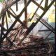 Atap bangunan SDN 03 Selodakon yang ambruk. (tog)