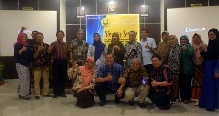 Pascasarjana Unej Dituntut Adaptif Sharing session pelaksanaan dan pengembangan program studi S2 dan S3 di lingkungan Pascasarjana Unej. (Kj1)
