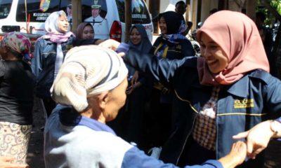 Mahasiswa KKN UM Gelar Senam Sehat di Desa Lembengan