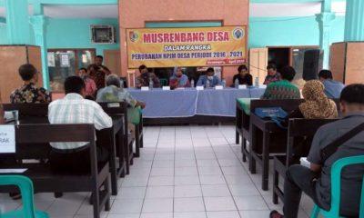 Suasana Musrembang di Kantor Desa (Tog)