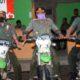 Ahmad Faisal didampingi Komandan Regu Polhutmob Ediyanto. (Tog)