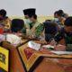 Wabup Jember Drs KH A Muqit Arief bersama Kapolres Jember dan Dandim 0824 Jember. (Ist)