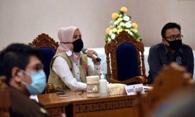 Bupati Jember, kajari dan Perwakilan dari Polres Jember saat focus group discussion di Pendapa Wahyawibawagraha. (ist)