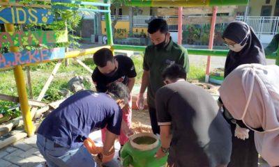GenBI Jember Bersama Kampoeng Recycle Gelar Pelatihan Kompos