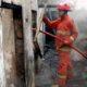 Teledor Isi Bensin 1 Rumah Warung Jember Ludes Terbakar