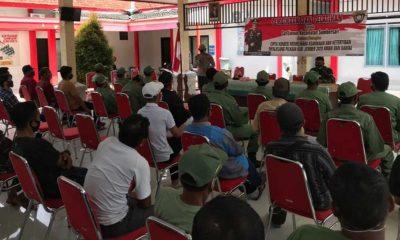 50 Perwakilan Linmas di Jember Dapat Pembinaan Pengamanan Pilkada