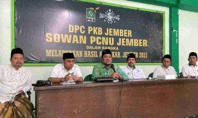 DPC PKB Jember Laporkan Hasil Kinerja Fraksi Pada Pengurus NU