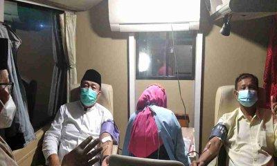 Jaga Stok Darah, PMI Jember Gelar Donor di Masjid